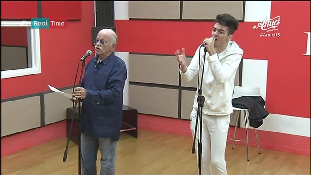 Gino Paoli e Lele: la preparazione...