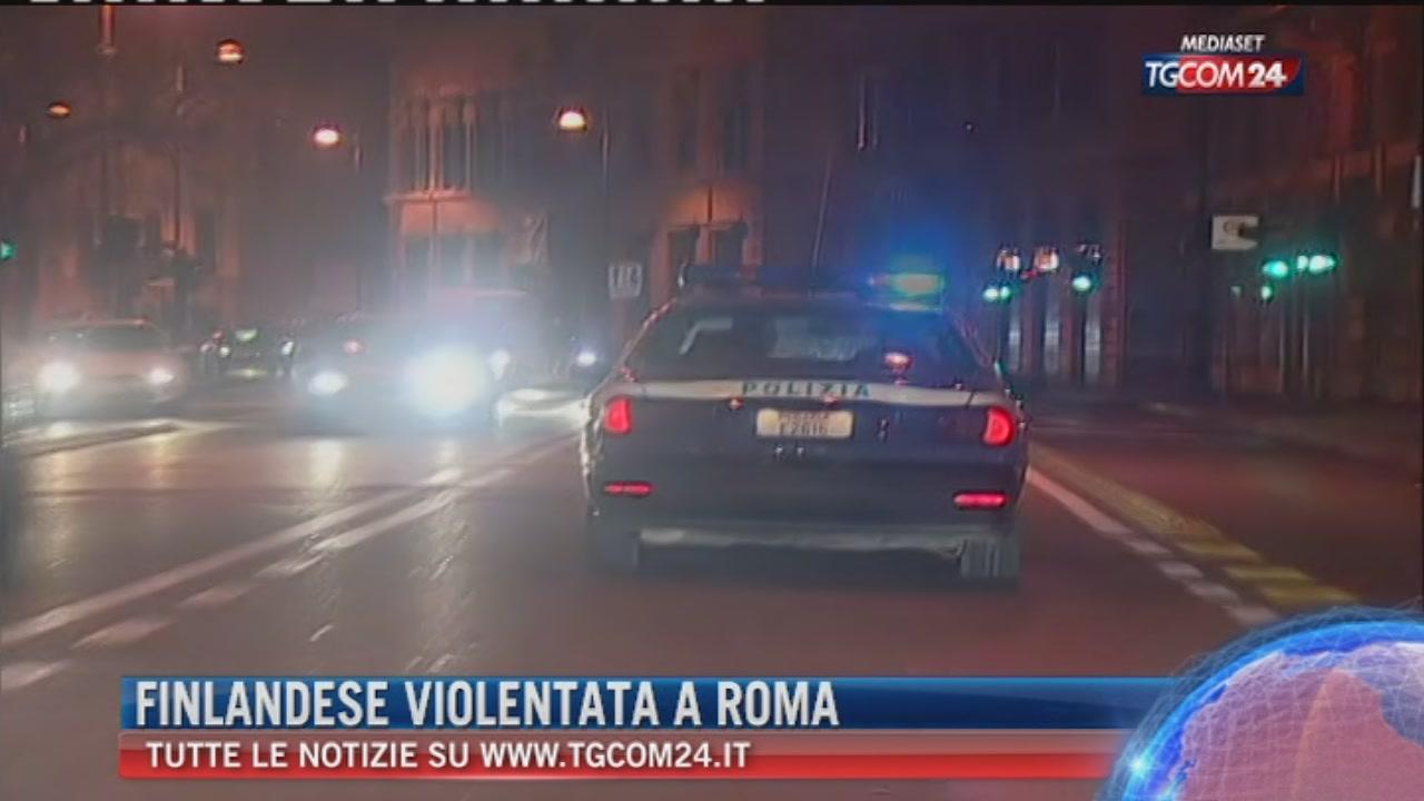 Roma, violenta e rapina una giovane in centro: arrestato 22enne