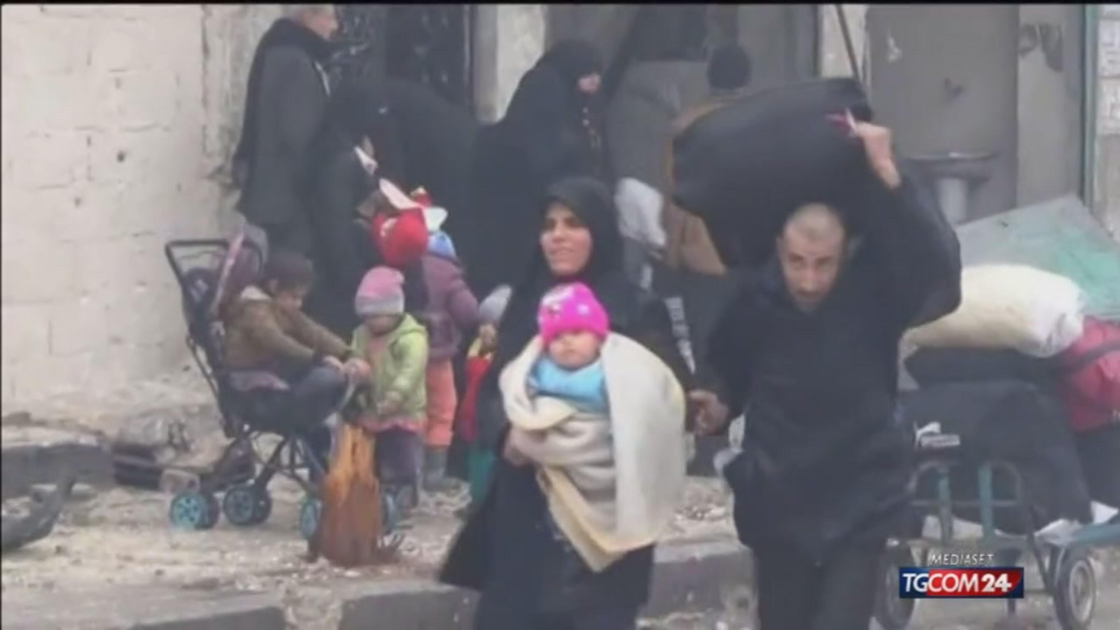 Aleppo, l'assedio trappola