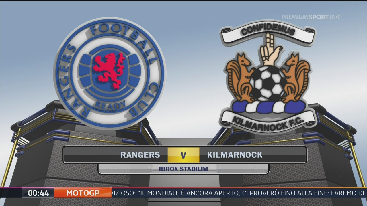 Rangers-Kilmarnock 1-1