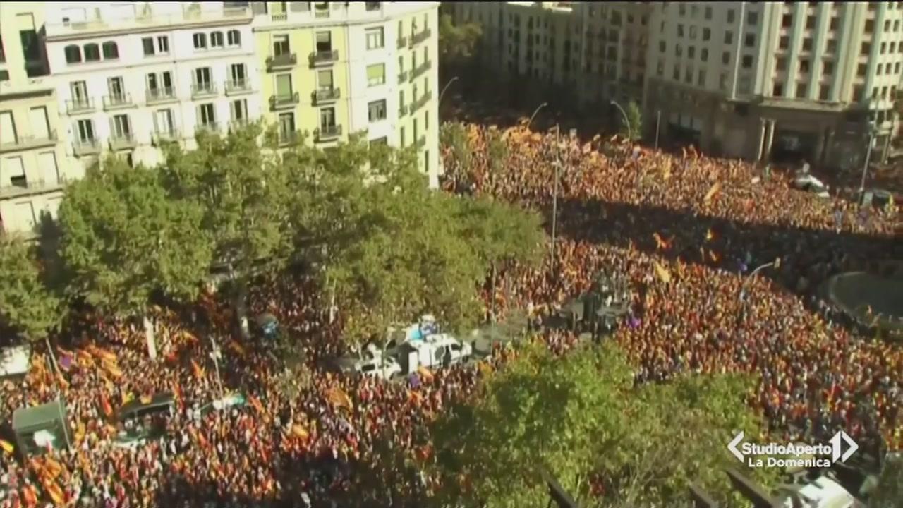 Barcellona, una città divisa