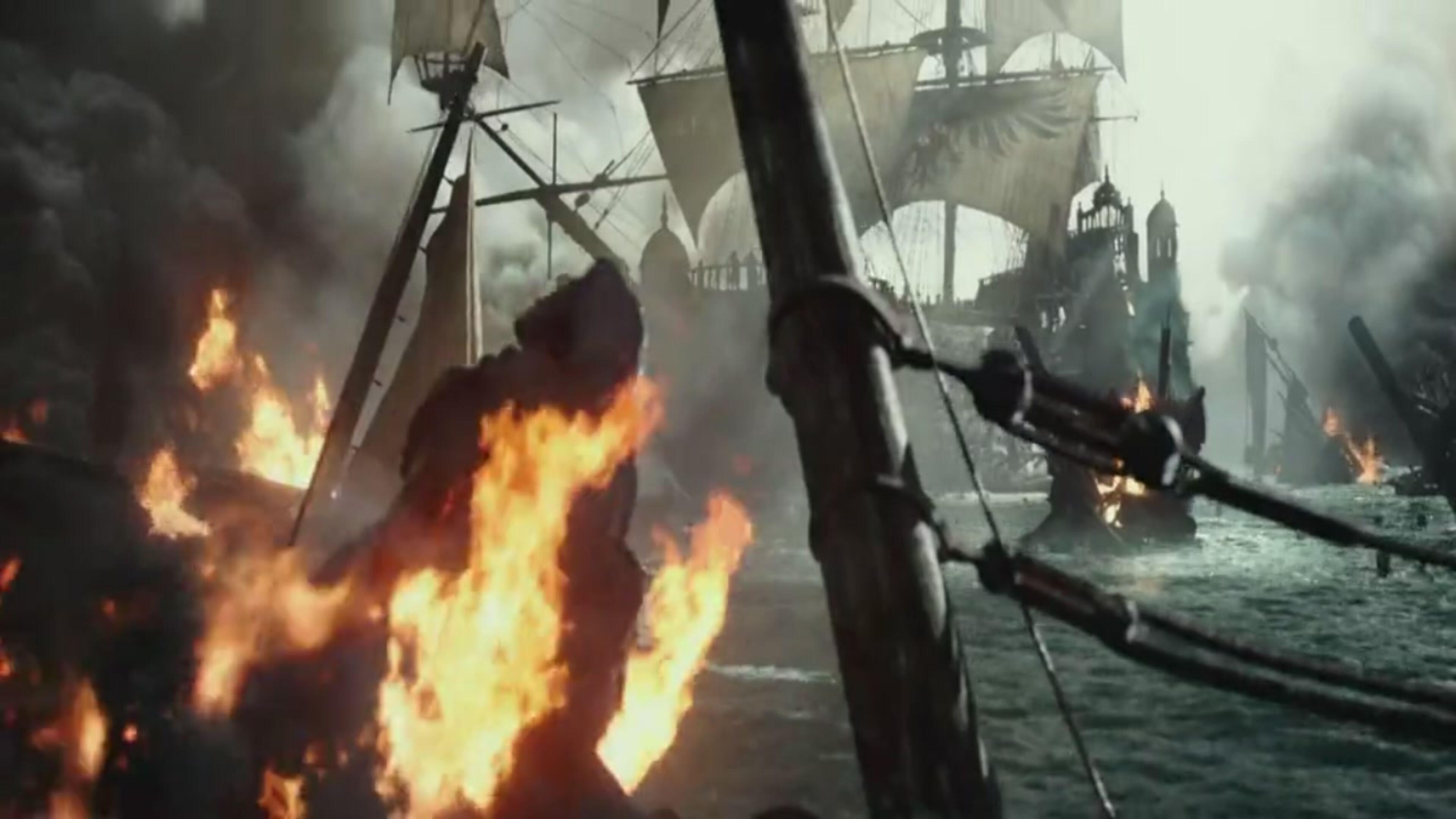 """""""Pirati dei Caraibi"""", il nuovo trailer del ritorno di Jack Sparrow"""