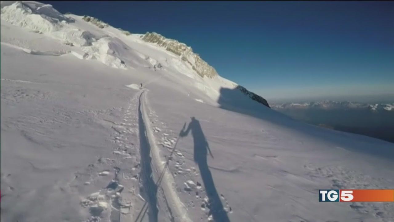 E cade la neve in Alto Adige