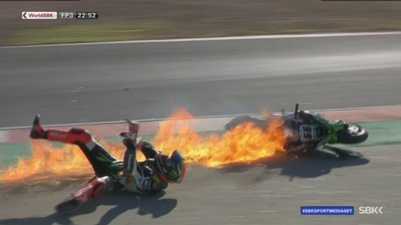 Sykes in fiamme