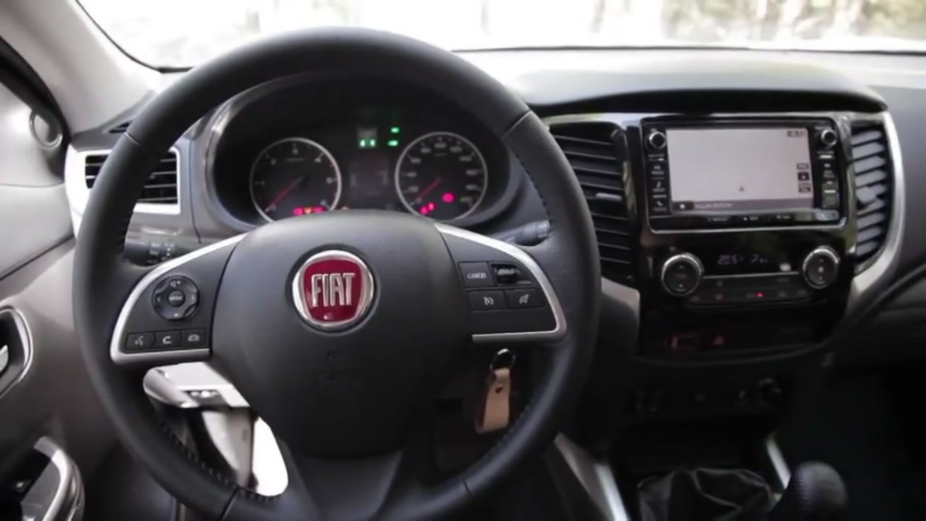 Fiat Fullback star della neve