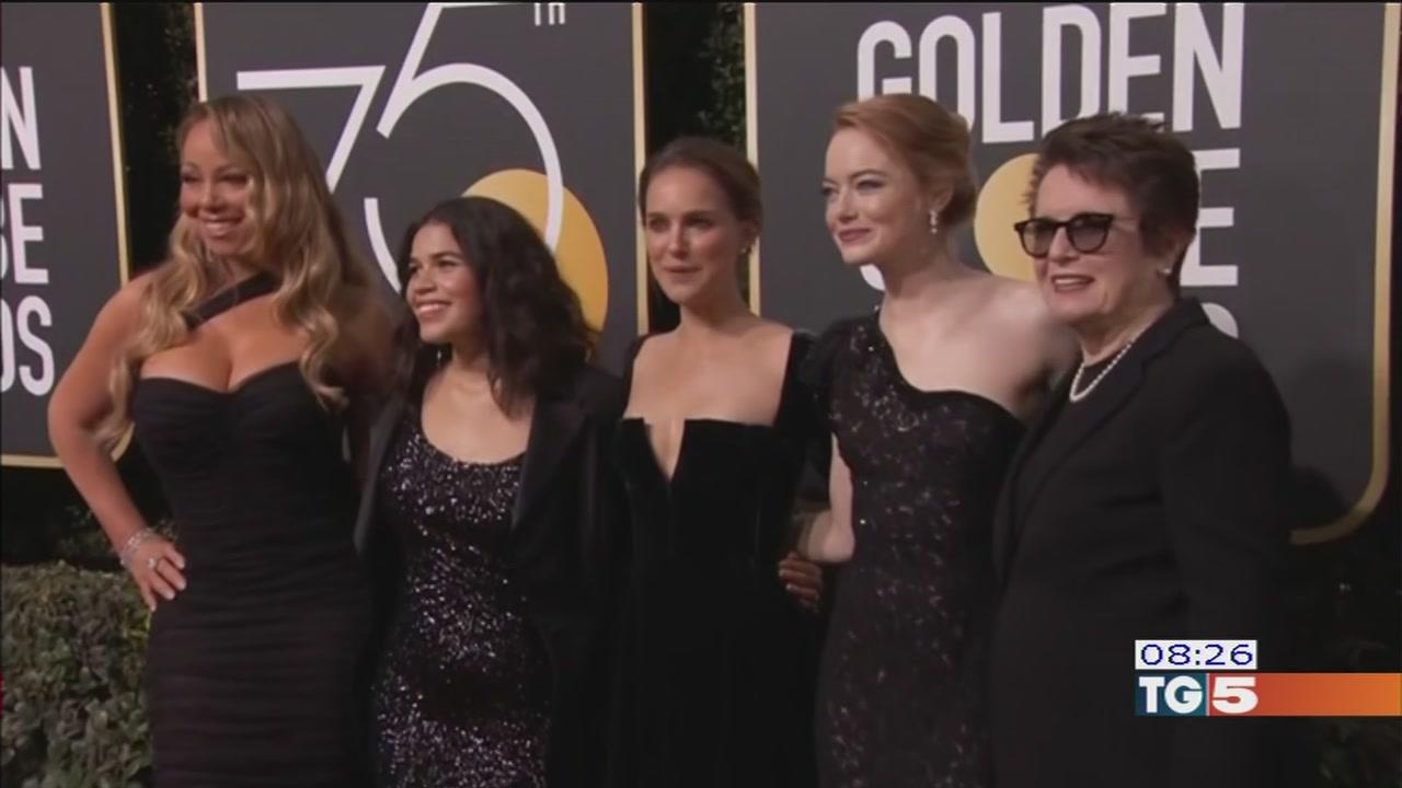 Golden Globes in nero contro le molestie