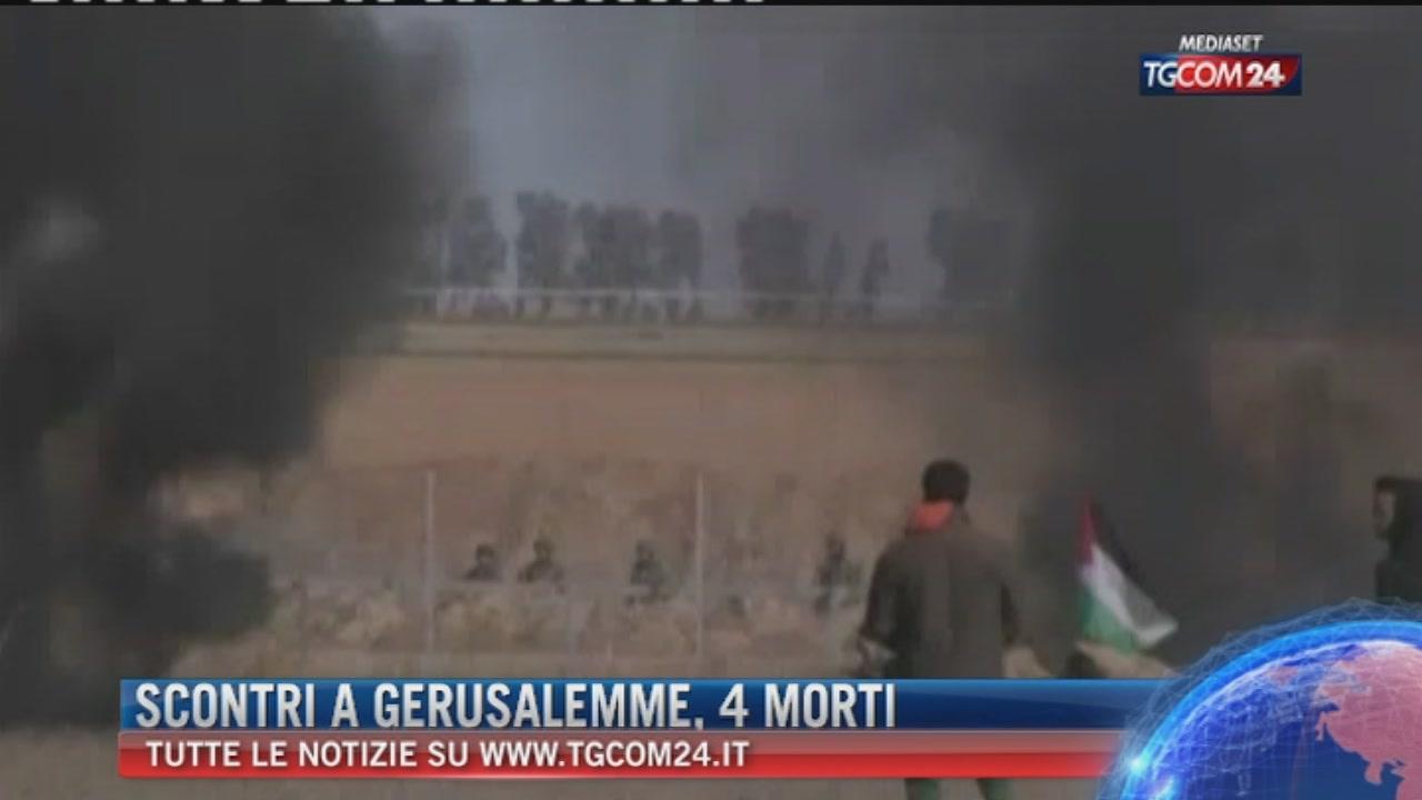 Breaking News delle 14.30: Scontri a Gerusalemme, 4 morti e 750 feriti