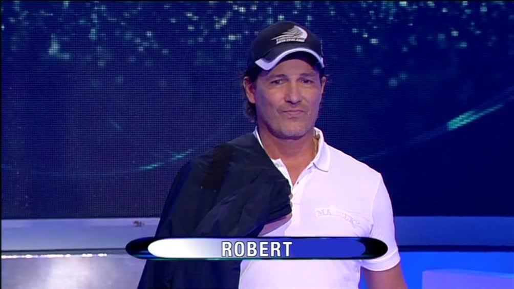 """Mi sento irresistibile"" – Robert"