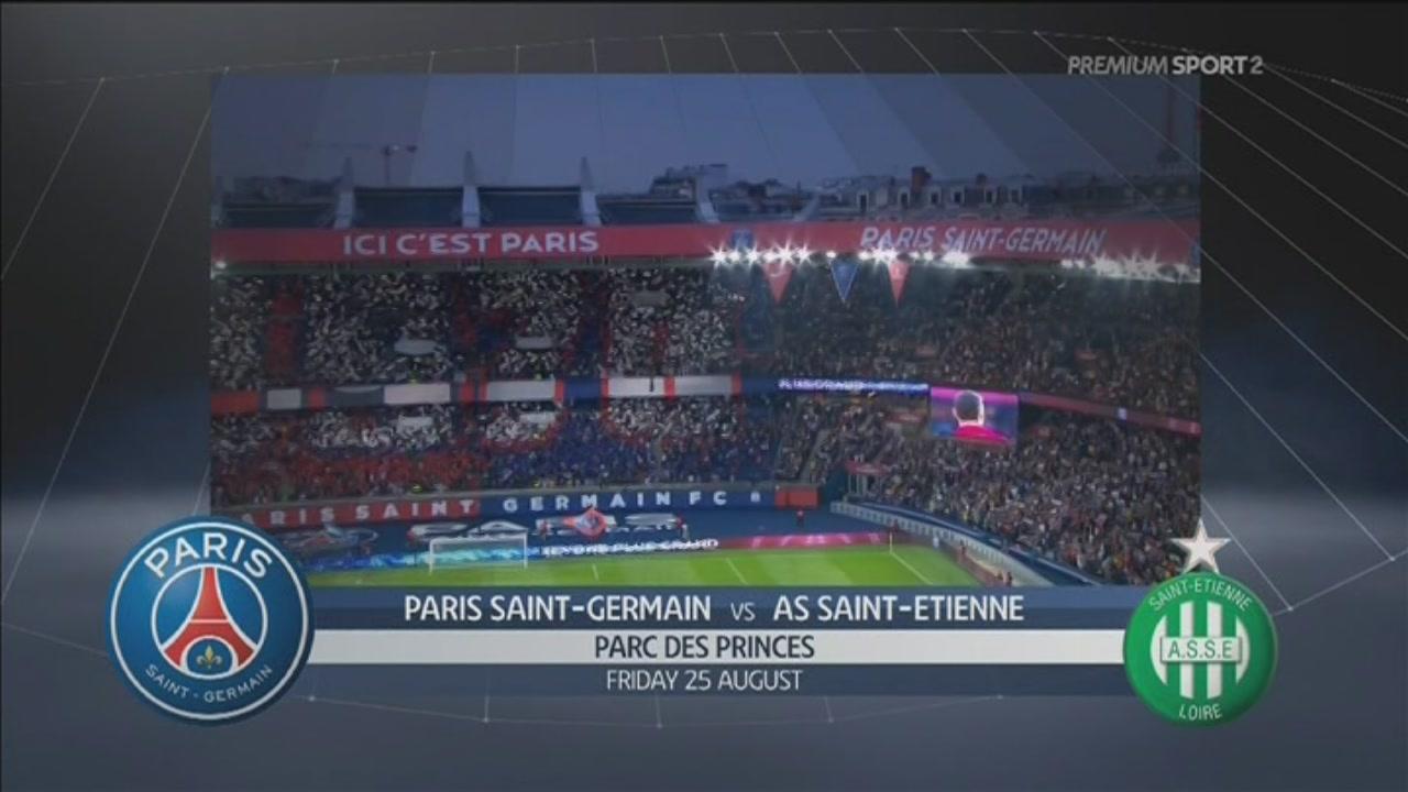 Paris Saint Germain-AS Saint Etienne 3-0