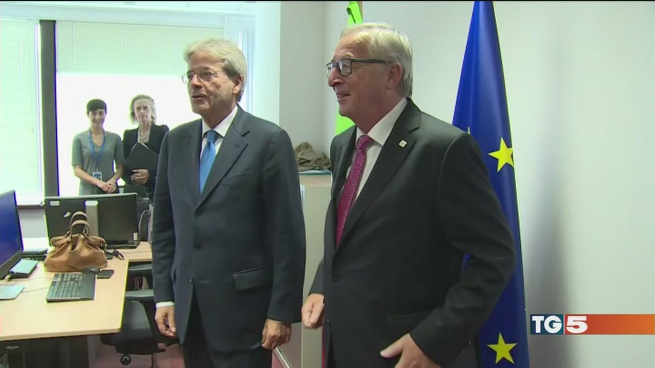 Gentiloni al vertice di Bruxelles