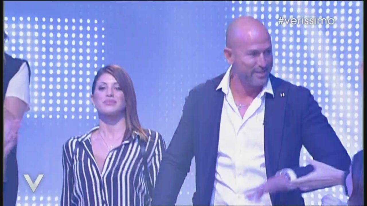 Stefano Bettarini e Nicoletta