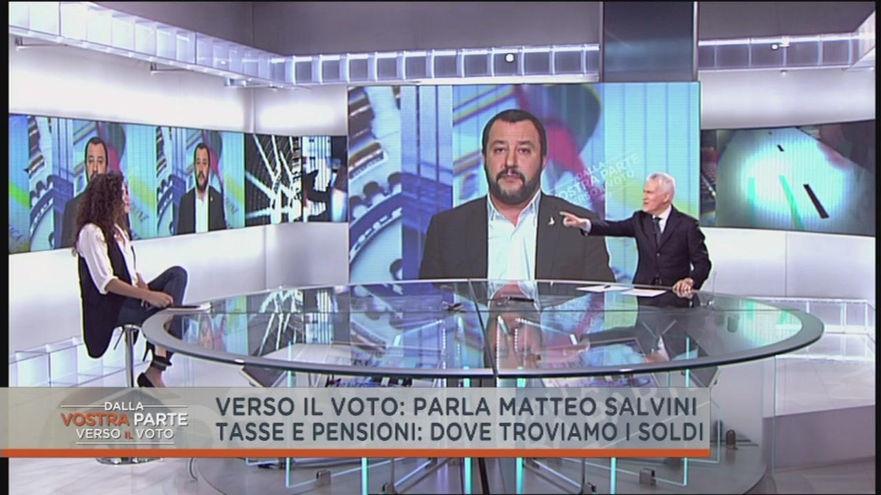 Matteo Salvini e le tasse
