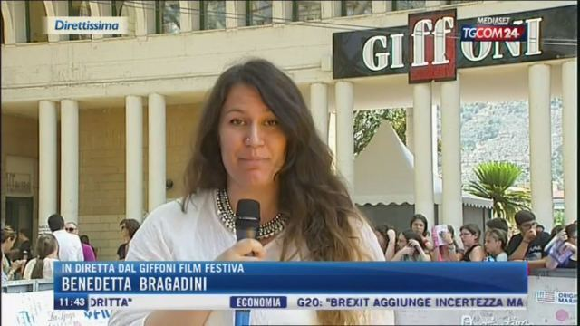 A Giffoni è arrivata Jennifer Aniston