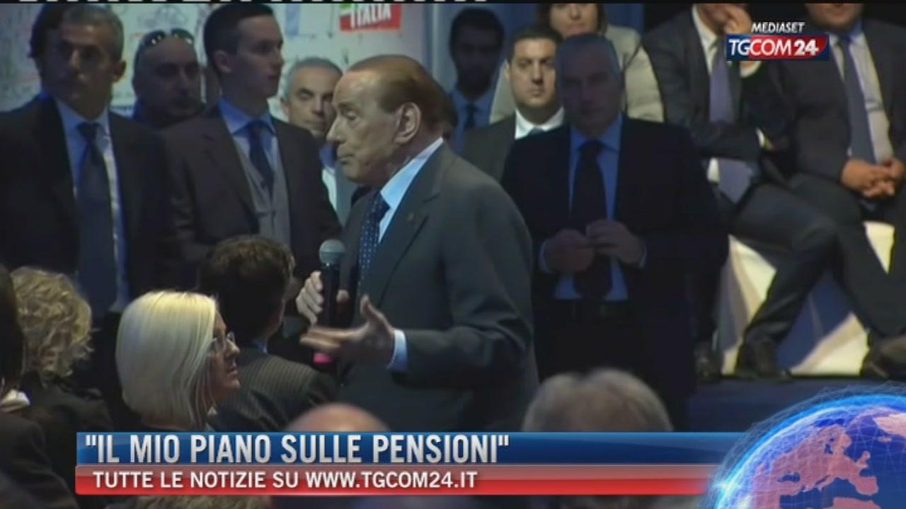"""Breaking News delle ore 11.00:""""Il mio piano sulle pensioni"""""""