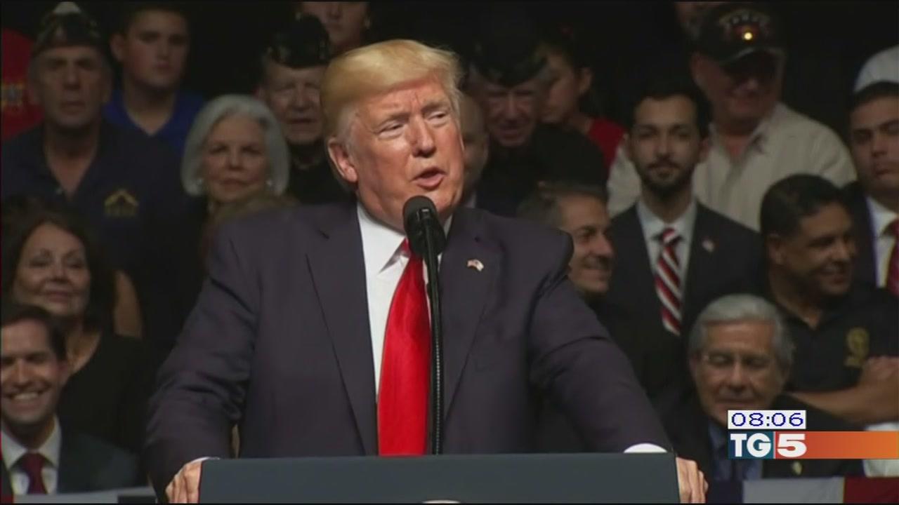 """Trump: """"sono indagato"""", no all'accordo con Cuba"""