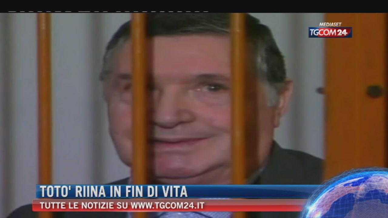 Mafia, Totò Riina in coma farmacologico dopo due interventi