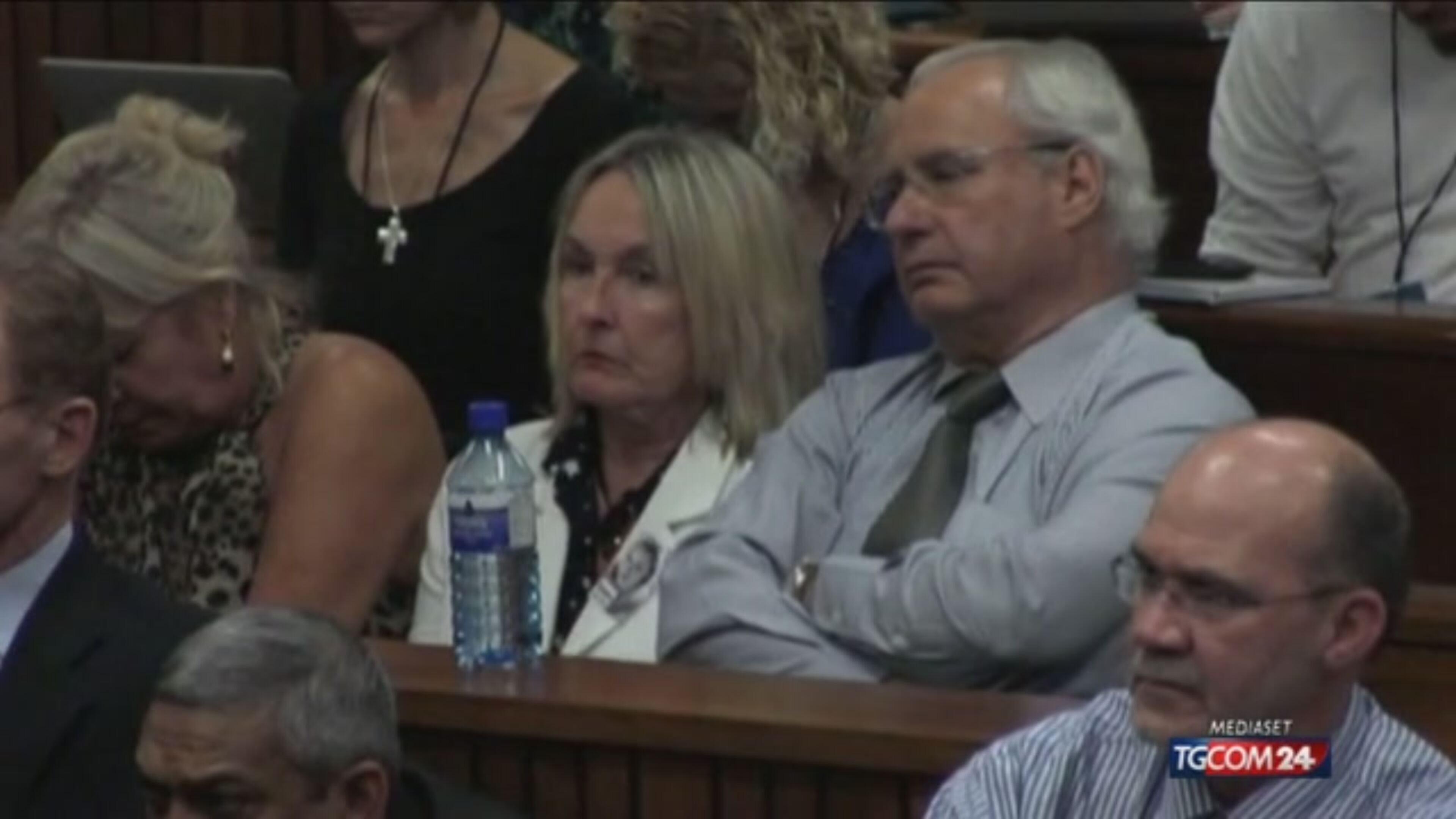 Pistorius, parla la mamma di Reeva