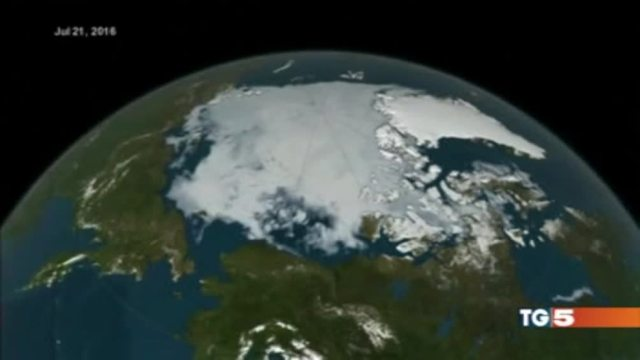 Allarme dall'Artico Il ghiaccio scompare