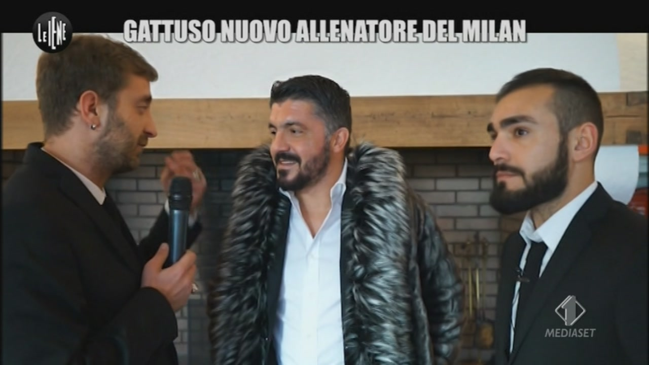 Iene, il kit per Gattuso
