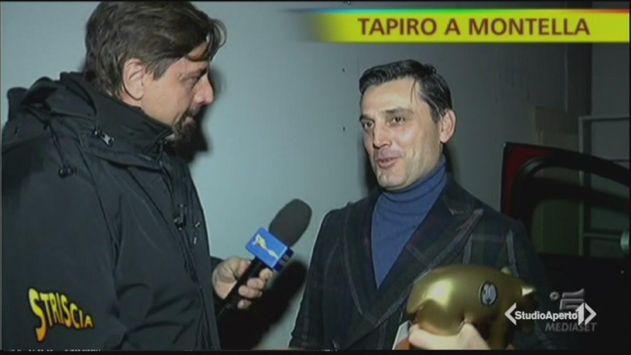 Un tapiro per Montella