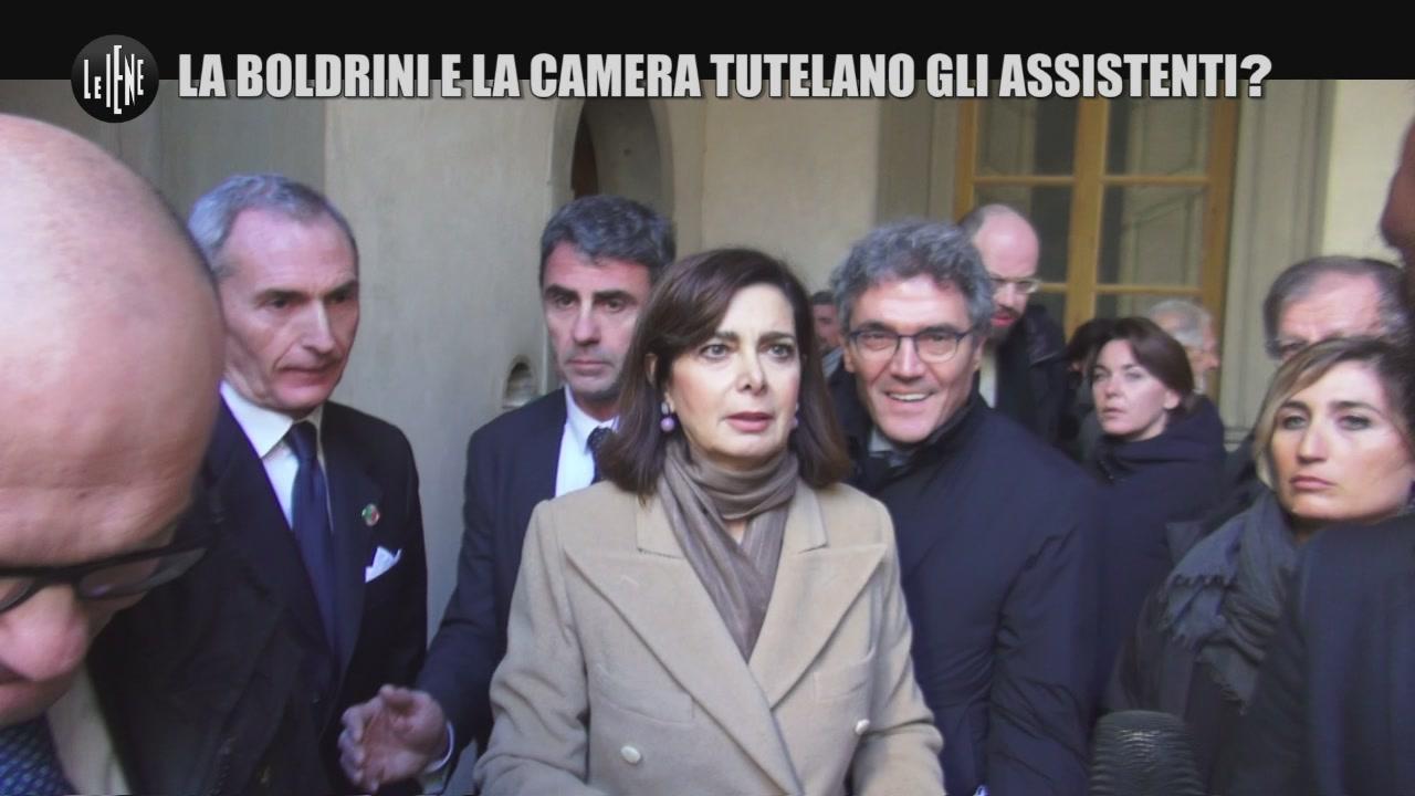 ROMA: La Boldrini e la Camera tutelano gli assistenti?