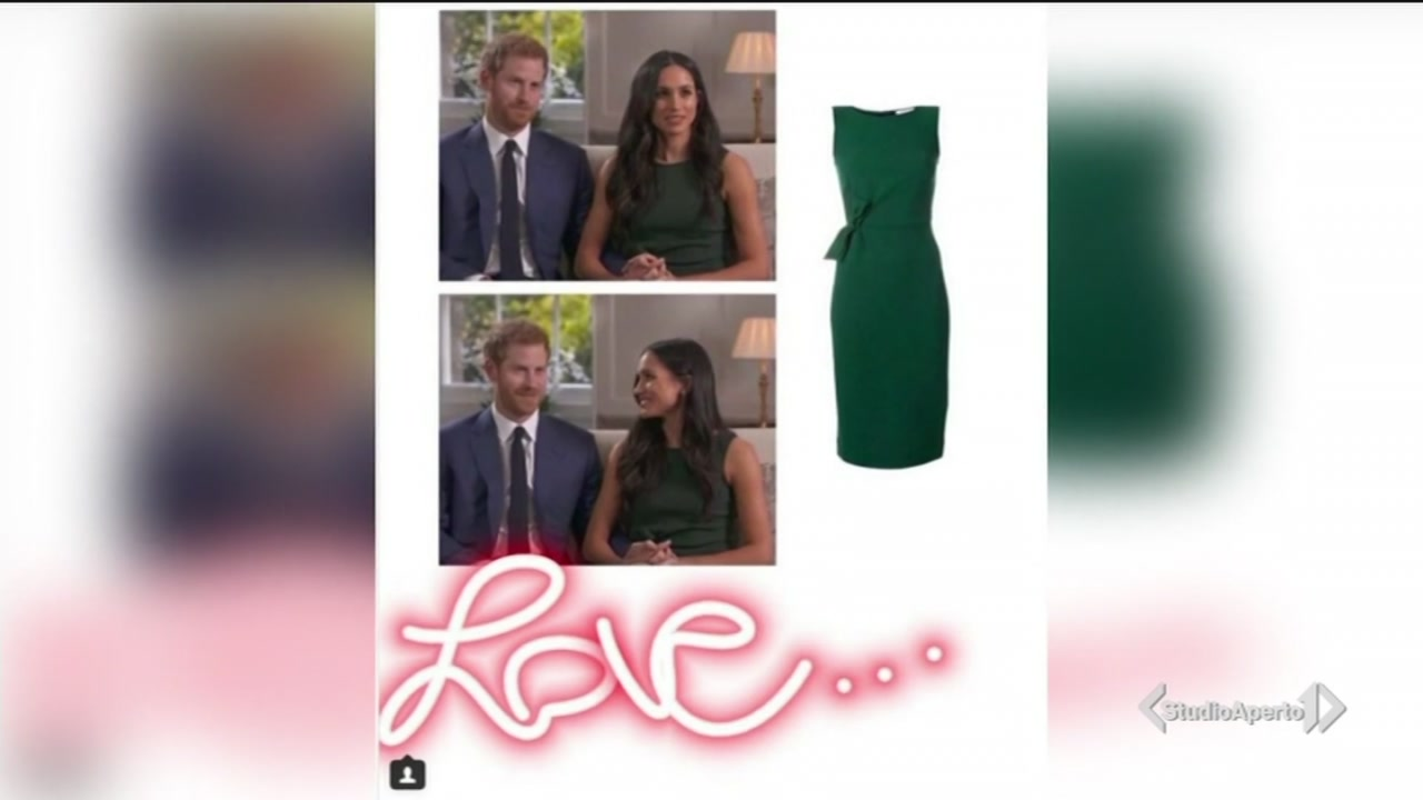 "L'abito verde ""Meghan"""