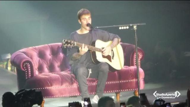 Justin Bieber a Bologna