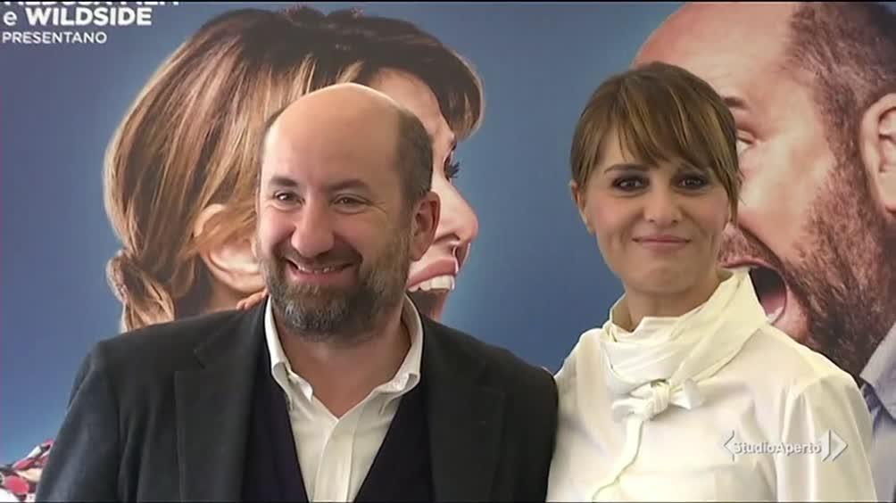 """Paola Cortellesi e Antonio Albanese """"in guerra"""" al cinema"""