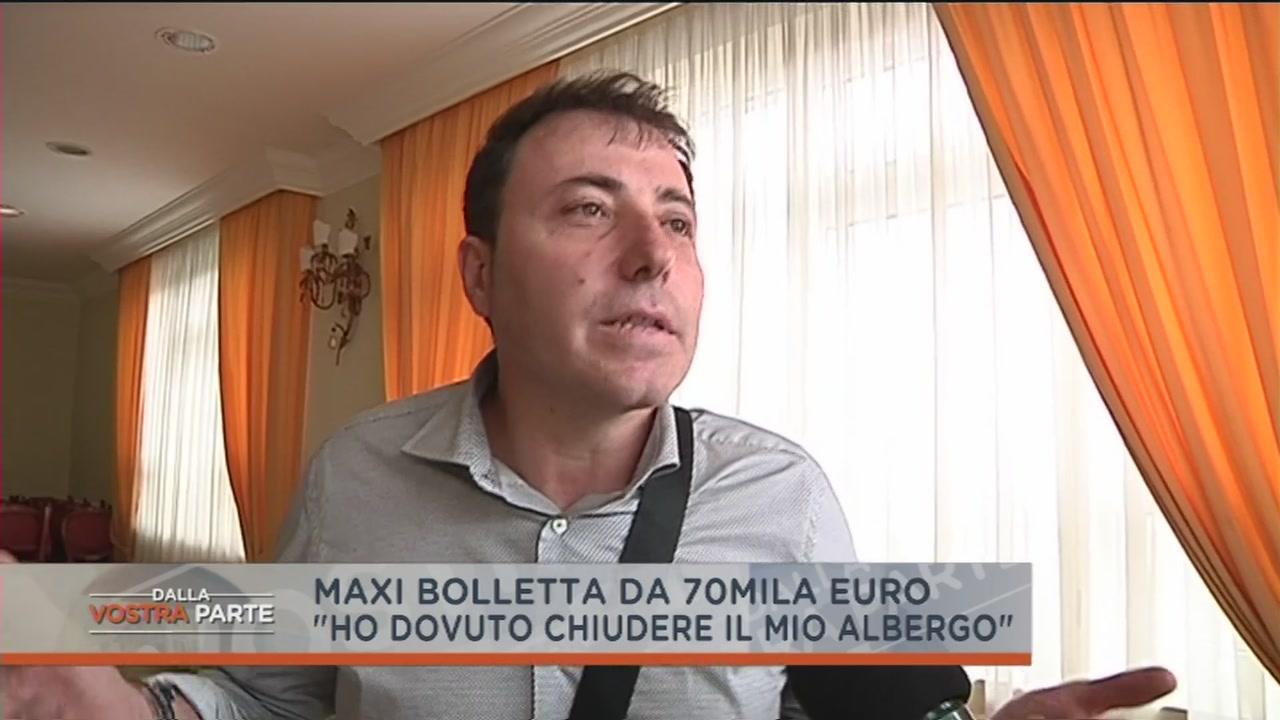 Una bolletta da 70mila euro