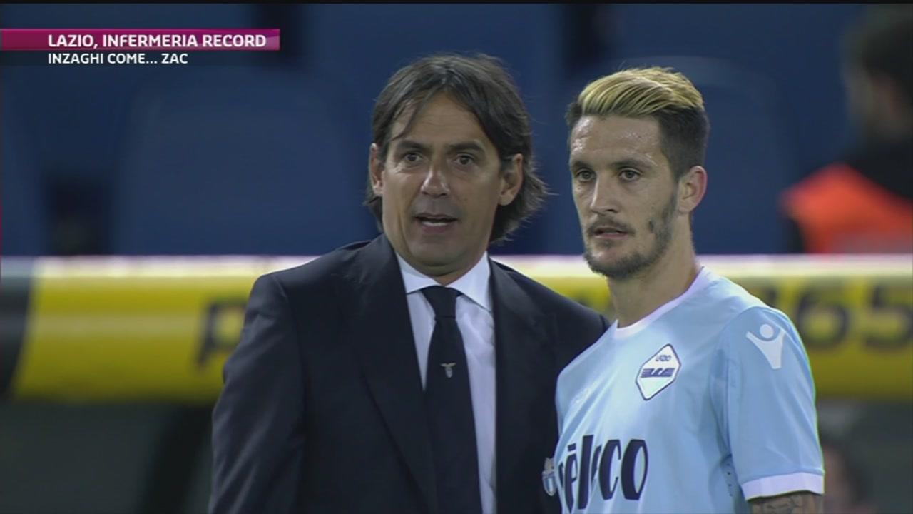 Lazio, infermeria record