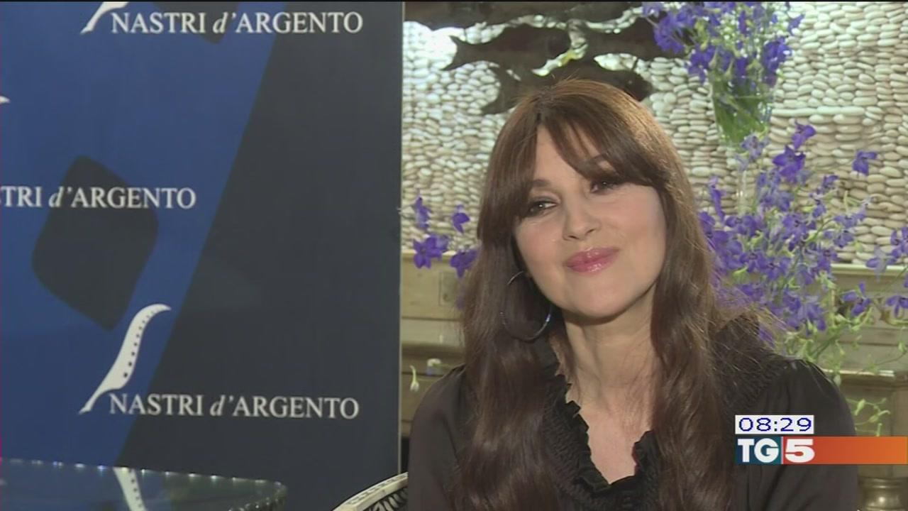 Nastro d'argento a Taormina per Monica Bellucci