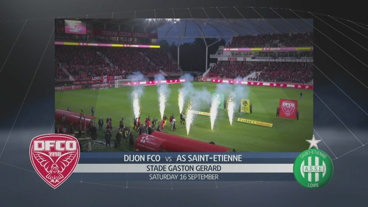 Dijon FCO-AS Saint Etienne 0-1