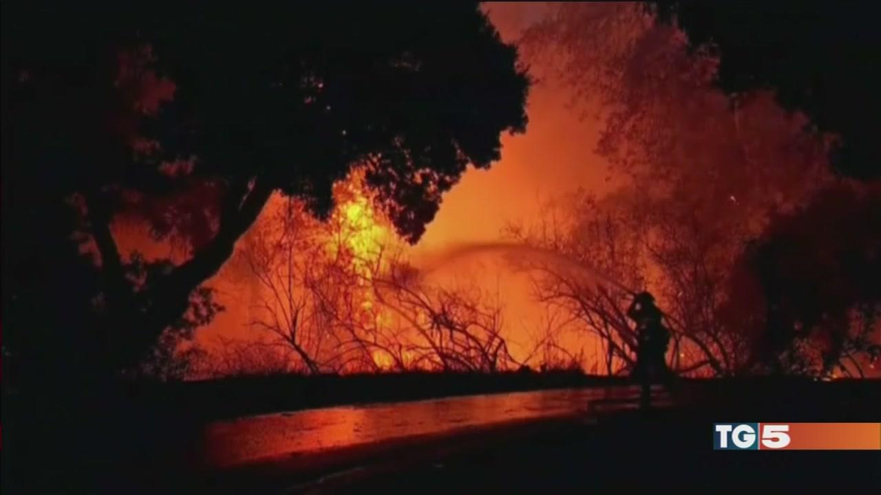 California in fiamme, 11 morti e 100 dispersi