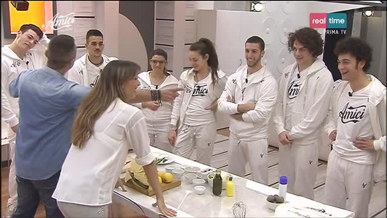 La Squadra Bianca in cucina con Benedetta Parodi