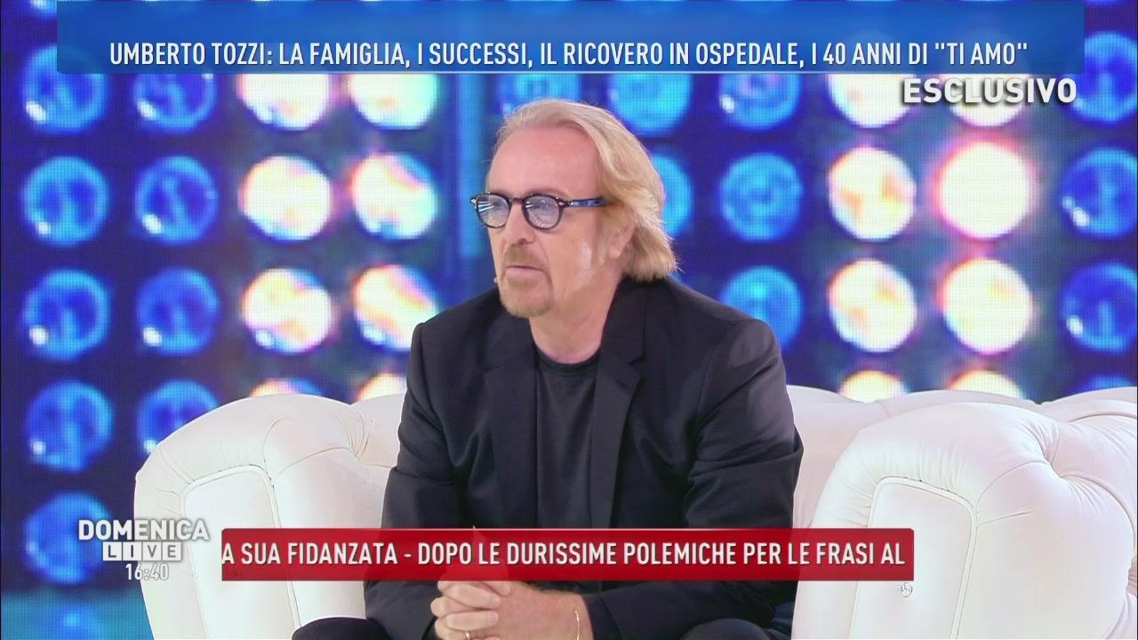 Umberto Tozzi.e il ricovero in ospedale