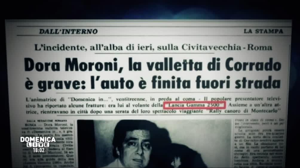 L'incidente di Dora Moroni