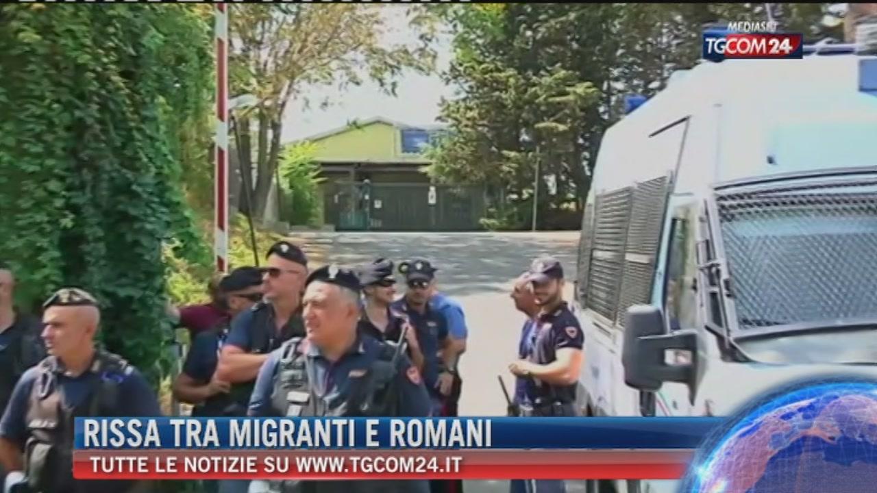 Roma, assedio a centro di accoglienza dopo lite: ferito un migrante