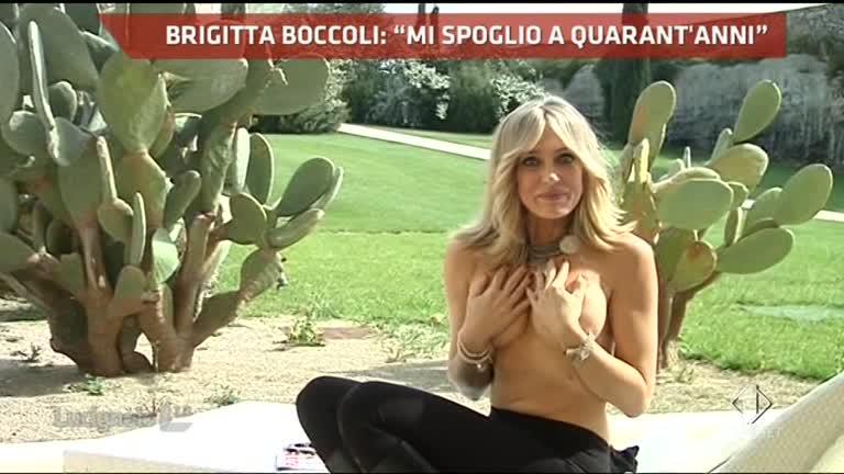 Brigitta Boccoli conquista Playboy