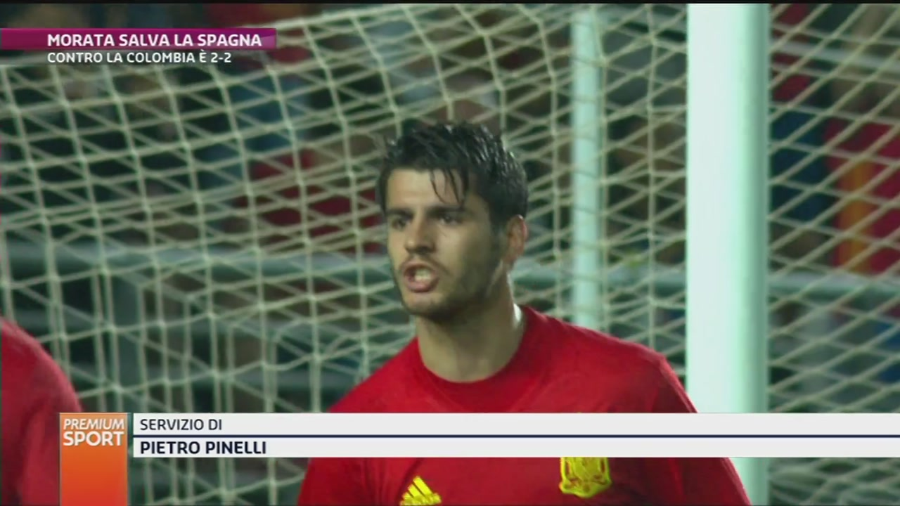 Morata salva la Spagna