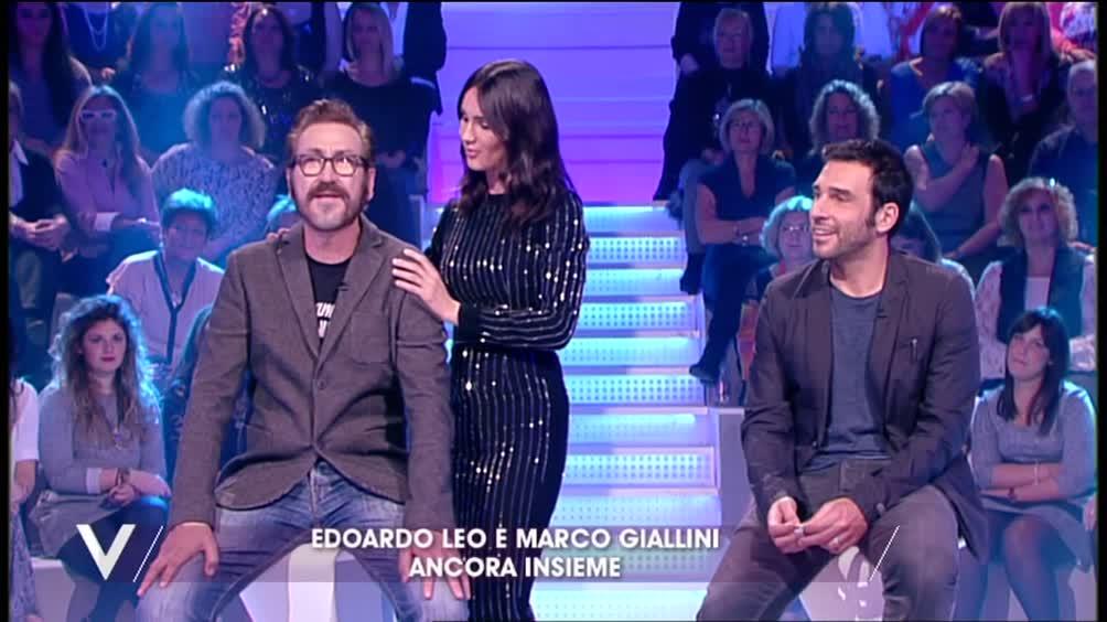 Edoardo Leo e Marco Giallini ancora insieme