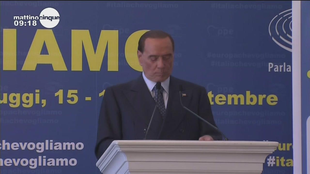 L'intervento di Berlusconi