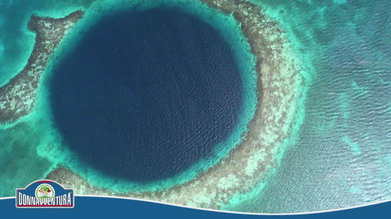The Great blue hole e le isole del Belize
