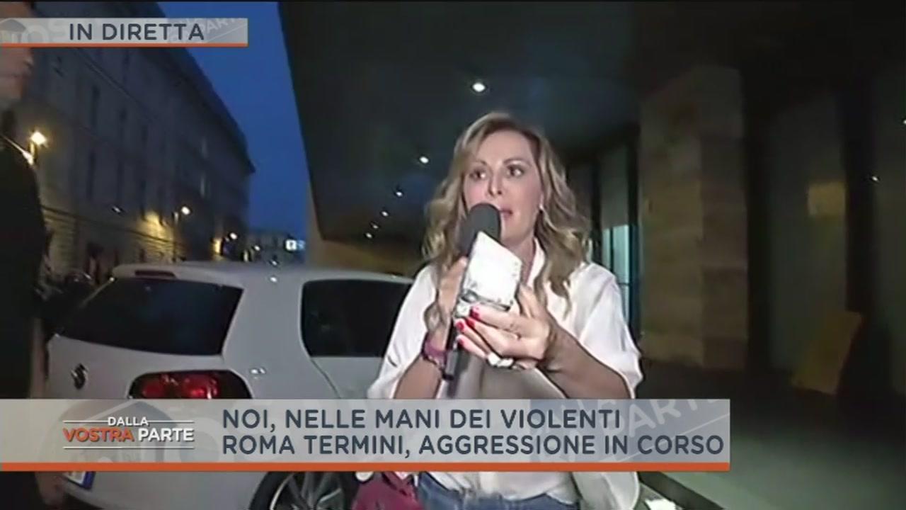 Aggressione a Daniela Santanchè