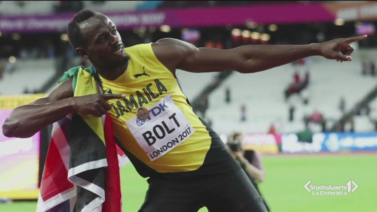 Usain Bolt sconfitto nella sua ultima gara