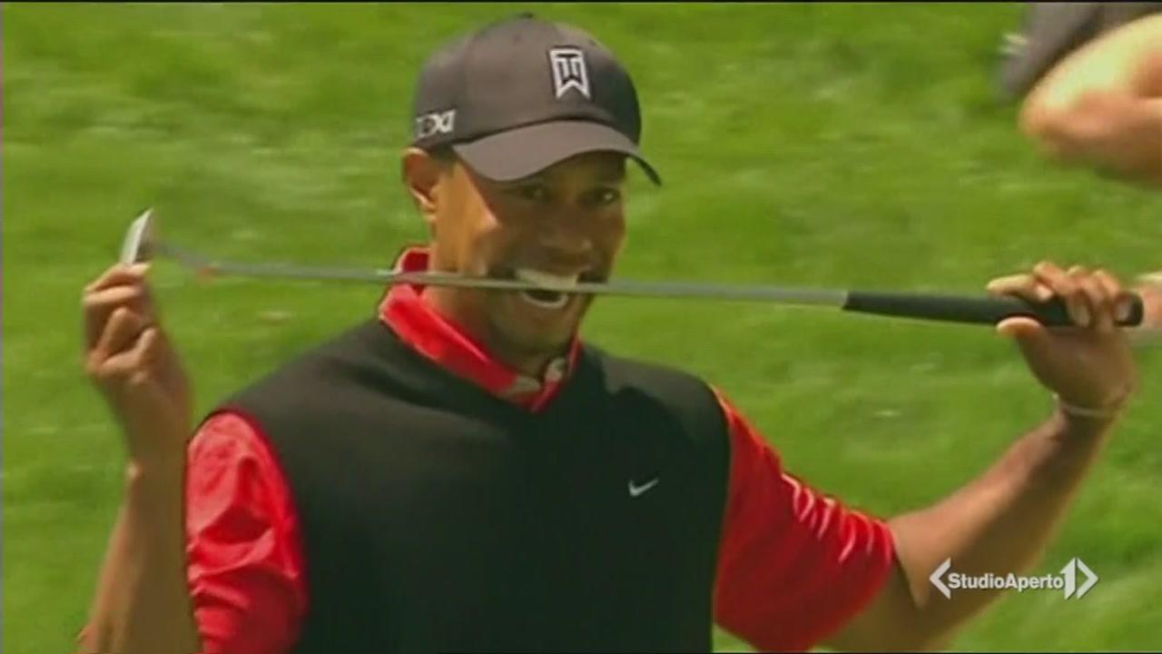 Tiger Woods, l'ultima bufera