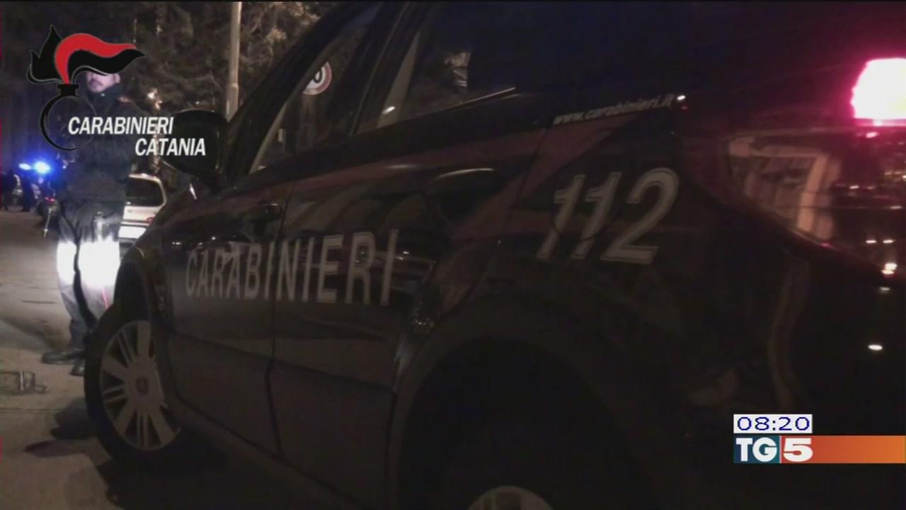 Mafia e droga: 36 arresti a Catania