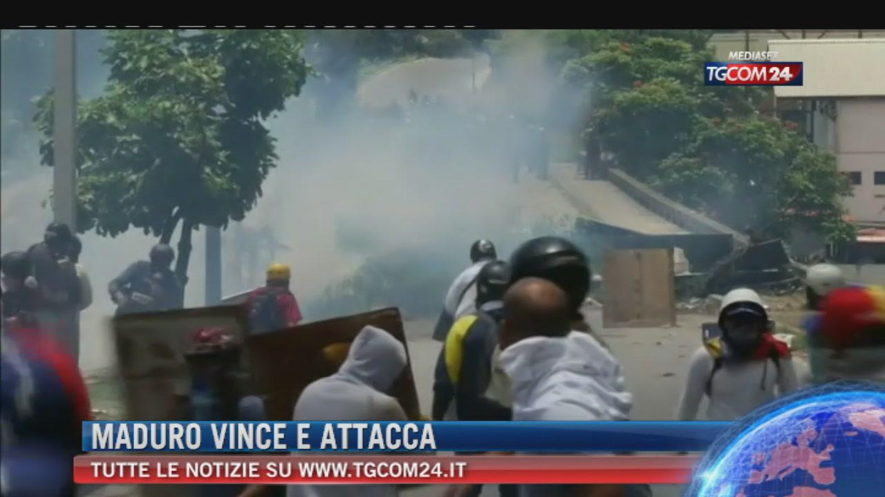 Venezuela, dopo il voto Maduro esulta e minaccia opposizioni, Parlamento e Procura