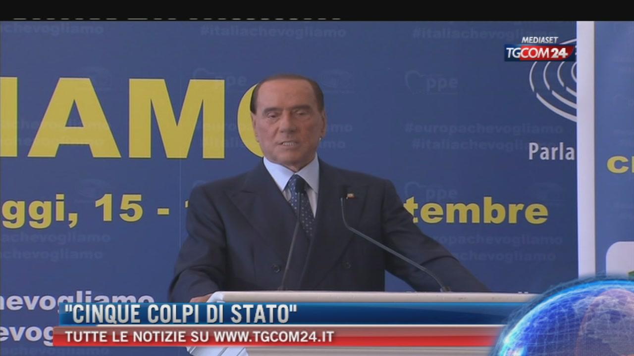 """Berlusconi: """"In Europa vince solo il Ppe, mi aspetto il via libera per ripresentarmi"""""""
