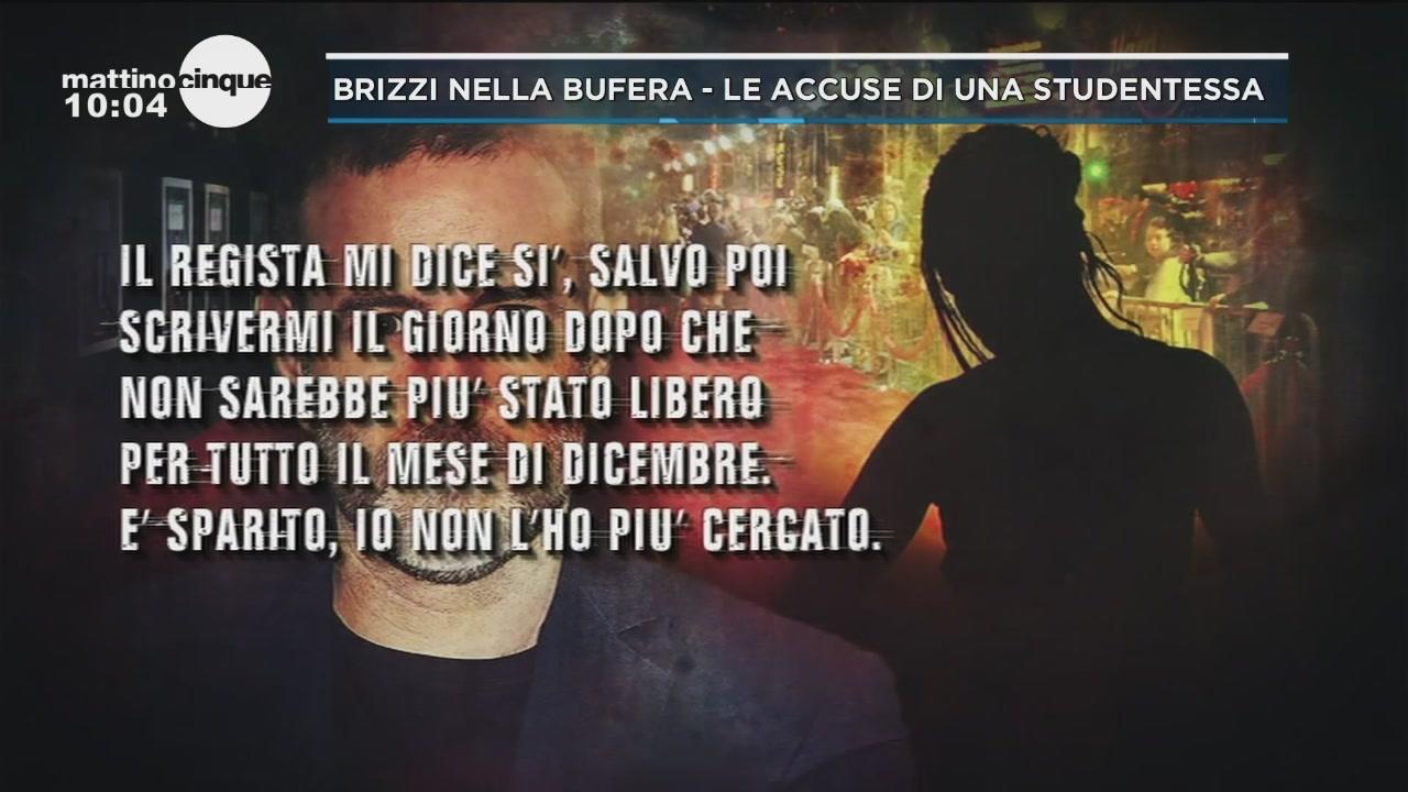 Fausto Brizzi: le accuse di una studentessa