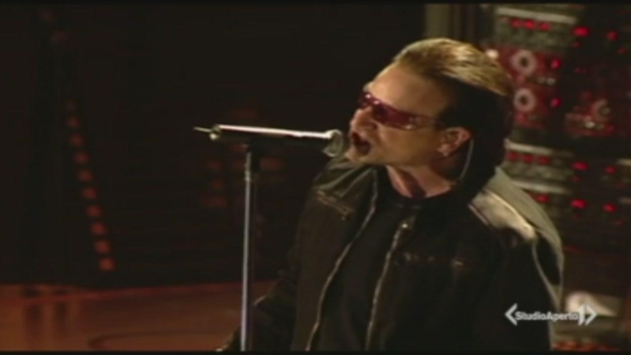 Gli U2 pronti a conquistare Roma